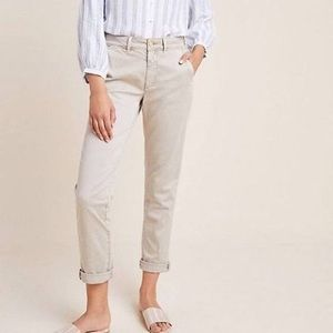 Anthropologie Chino Pants Relaxed Fit Size 31